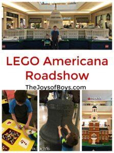 LEGO® Americana Roadshow at Fashion Show