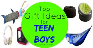 Top Gift Ideas for Teen Boys