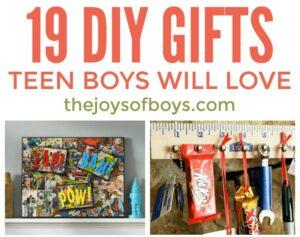 DIY Gifts Teen Boys Will Love