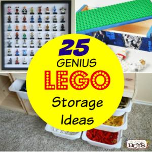25 LEGO Storage Ideas