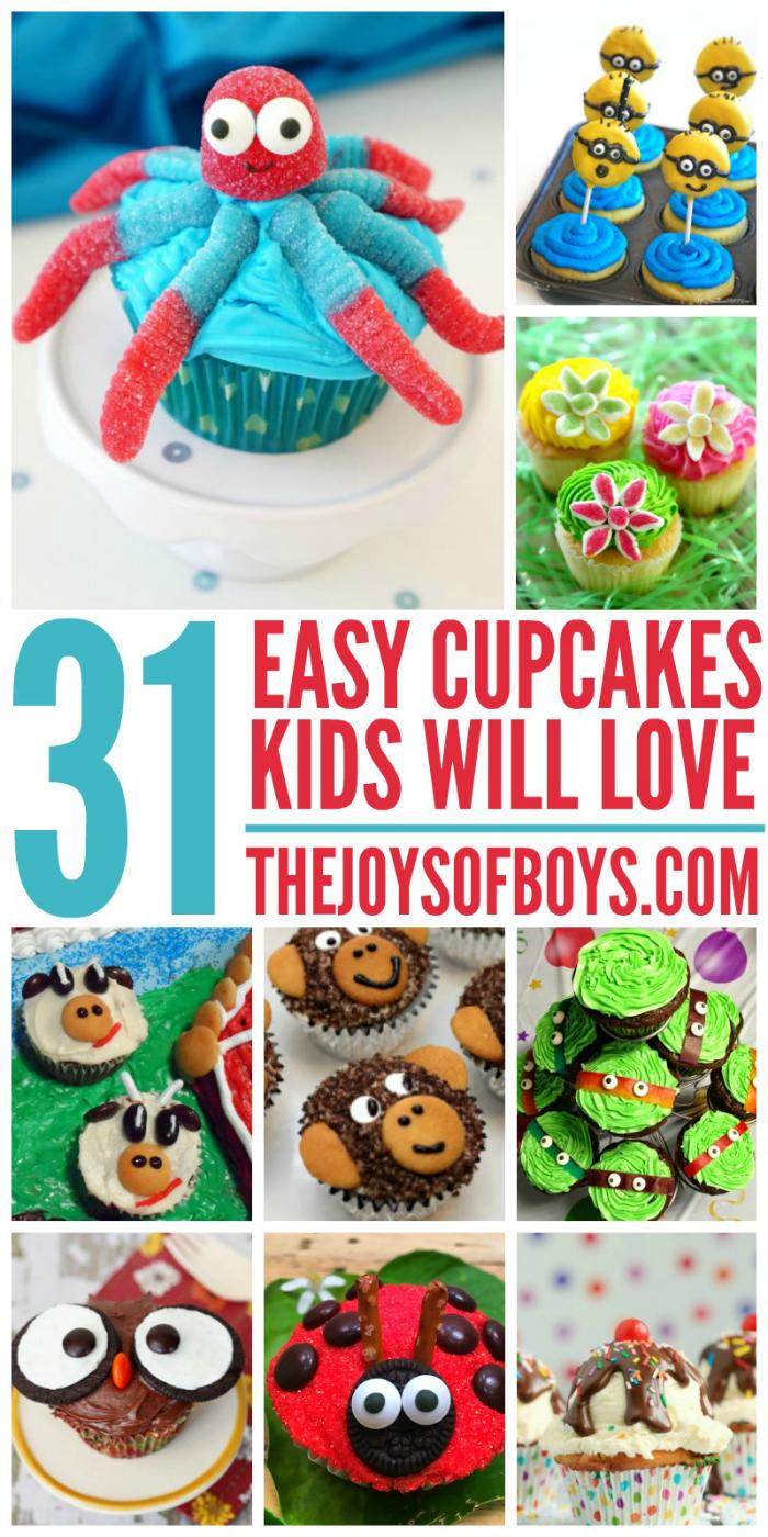 Easy Cupcake Recipes kids