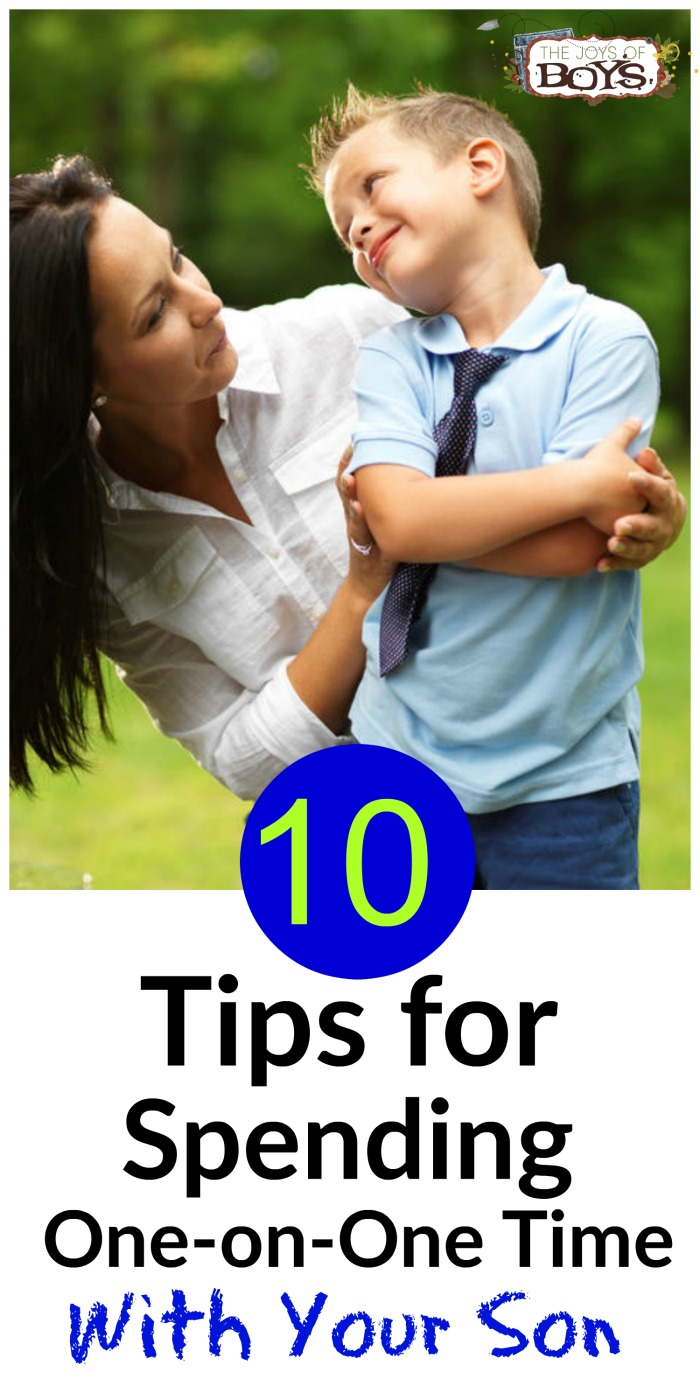 Tips for spending one-on-one time with your son