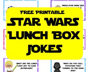 Star Wars Lunch Box Jokes