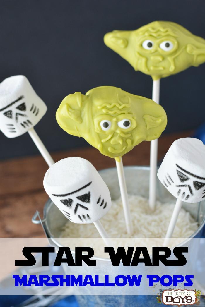 Star Wars Marshmallows