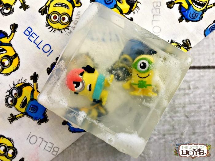 Minion soap final
